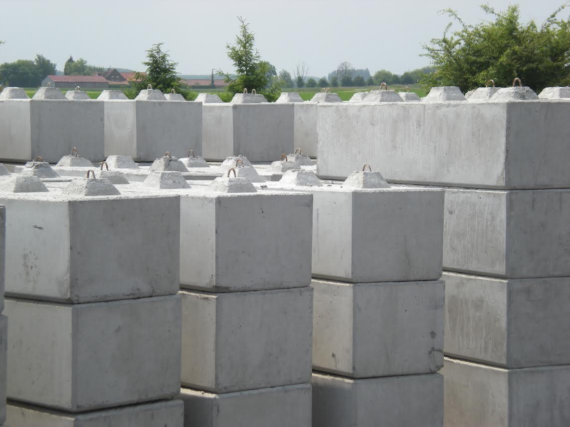 Blocs béton emboîtables Normandie