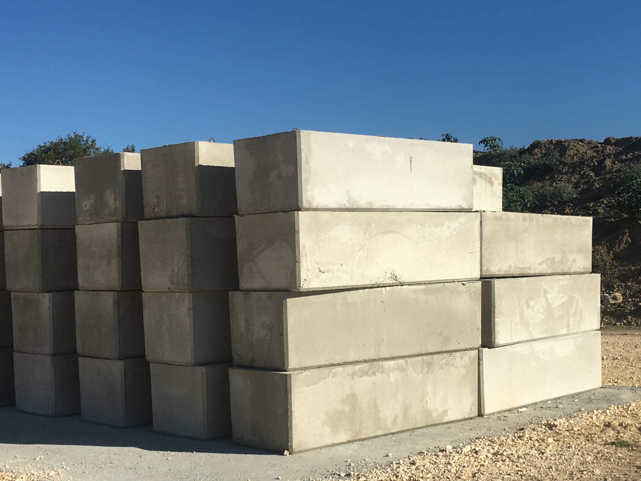Vente blocs béton emboîtables